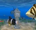Aquarium Clock 3D Screensaver Screenshot 0