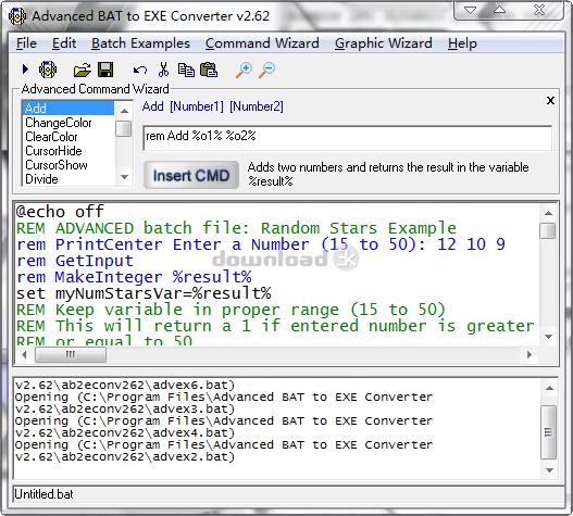 bat to exe converter f2ko download