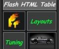 HTML Table Renderer AS 3.0 Screenshot 0