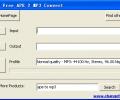CFTsoft Free APE 2 MP3 Convert Screenshot 0