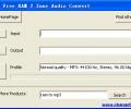 CFTsoft Free RAM 2 Zune Audio Convert Screenshot 0