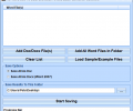 MS Word Doc To Docx and Docx To Doc Batch Converter Software Screenshot 0