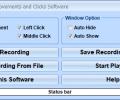 Record Mouse Movements and Clicks Software Screenshot 0