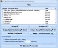 Kill Multiple Processes and Tasks At Once Software Screenshot 0