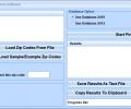 Find Distance Between Multiple Zip Code Locations Software Screenshot 0