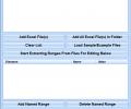 Excel Manage Named Ranges Software Screenshot 0