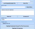 Excel Highlight Duplicate Rows Software Screenshot 0