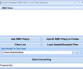 Convert Multiple WMV Files To AVI Files Software Screenshot 0