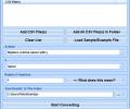 Convert Multiple CSV Files To Text Files Software Screenshot 0