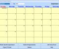Appointment Calendar Software Screenshot 0