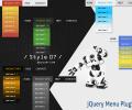 jQuery Menu Plugin Style 07 Screenshot 0