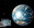 Earth 3D Space Survey Screensaver for Mac OS X Screenshot 0