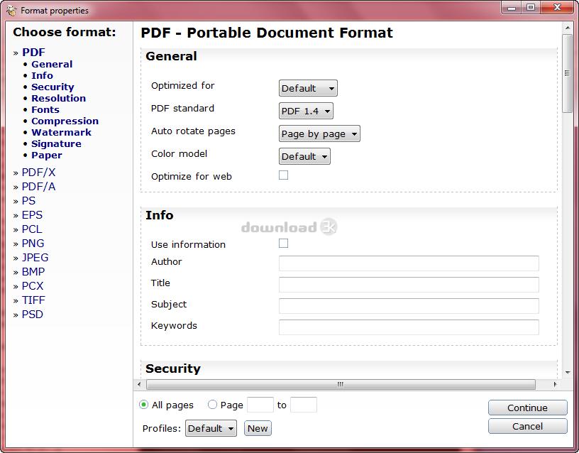 PDF24 Creator 9 0 0 Review & Alternatives - Free download
