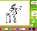 I Color Too: Toons 12 Screenshot 1