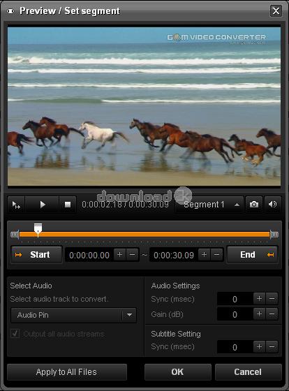 Gom video converter 2012 review alternatives free trial gom video converter screenshot 3 ccuart Gallery