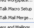 FaxTalk Merge for Microsoft Word 2003/XP Screenshot 0