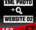 XML Photo Template 02 AS2 Screenshot 0