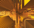 Future City 3D Screensaver for Mac OS X Screenshot 0
