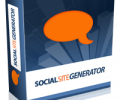 Social Site Generator Screenshot 0