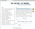 My Music At Home Personal Media Server Screenshot 0