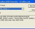 uToolbox GUID Generator Tool Screenshot 0