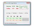 Bandwidth Usage Monitor Screenshot 0