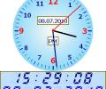 ITS Analog & Digital Clock Screenshot 0