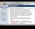 Portuguese-English Collins Pro Dictionary for Mac Screenshot 0