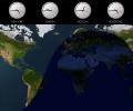 Solar World Clock Screenshot 0