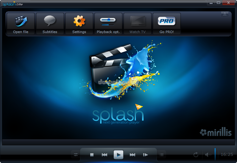 Скачать splash pro hd player rus торрент