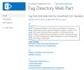 SharePoint Tag Directory Web Part Screenshot 0