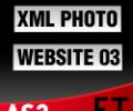 XML Photo Template 03 AS3 Screenshot 0