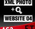 XML Photo Template 04 AS3 Screenshot 0