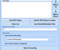 JPG Files To Animated GIF Converter Software Screenshot 0