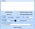 CSV To HTML Table Converter Software Screenshot 0