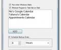 Google Calendar Backup Utility Screenshot 0