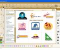 Quick Logo Designer Logo Maker Software Screenshot 0