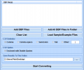 DBF To CSV Converter Software Screenshot 0