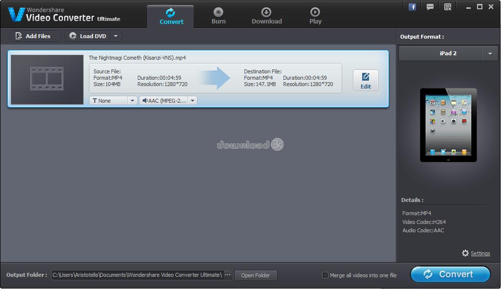 Wondershare Video Converter Ultimate 6 0 1 Review