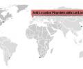 Interactive Flash World Map Screenshot 0