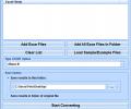 Excel XLS and XLSX To DBF Converter Software Screenshot 0
