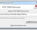 Epubor PDF DRM Removal Screenshot 0
