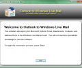 Outlook to Windows Live Mail Screenshot 0