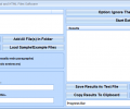Extract Paragraphs or Sentences From Text and HTML Files Software Screenshot 0