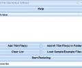 TGA File Size Reduce Software Screenshot 0