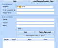 Excel Project To Do List Template Software Screenshot 0