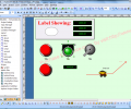 HMI-SCADA Graphics Visualization Screenshot 0