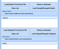 Outlook Generate Emails From Excel File Software Screenshot 0