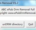 ABC ePub Drm Removal Screenshot 0