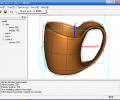 OBJ mesh to solid Screenshot 0